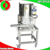 Shenghui manufacture commercial beef fish meat stuffed hamburger patty maker production line for sale