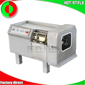 Meat dicer cutting equipment