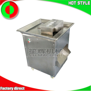 Commercial meat slicer cutter