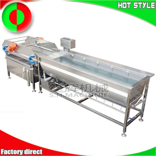 Industrial vortex ozone fruit & vegetable wash machine
