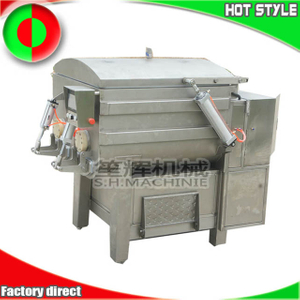 Factory vacuum meat stuffing mixer blender machine vacuum filling machine made in China