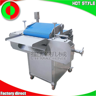 Automatic meat slicing machine fish slicer for food factory pork chicken breast steak meat cutting machine
