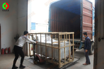 Anti-epidemic resumption and resumption of production, fruit and vegetable cleaning and processing machinery shipped