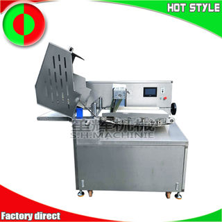 Automatic frozen meat slicer beef steak cutting machine chicken meat slicing machine meat processing machine