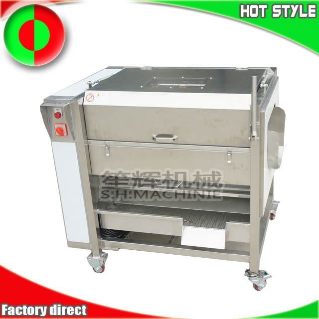 New style ginger taro carrot potatoes peeling machine with cover