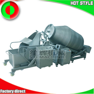 Stainless steel hydraulic vacuum meat tumbler production line